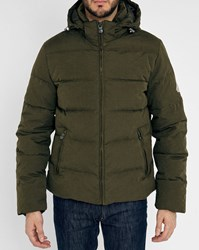 Pyrenex Khaki Sputnik Pr Waterproof Removable Hood Down Jacket
