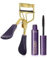 Tarte Picture Perfect Eyelash Curler And Deluxe Lights Camera Lashes Mascara No Color