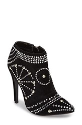 Lauren Lorraine Women's Studded Pointy Toe Bootie