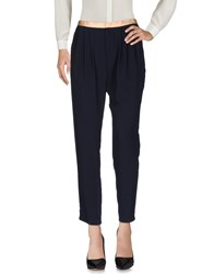 Girl By Band Of Outsiders Casual Pants Dark Blue