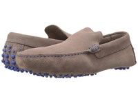 Dune Bermuda Grey Suede Men's Slip On Shoes Gray
