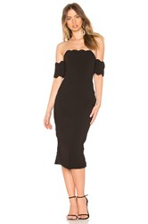 Asilio Dark Nights Strapless Dress Black