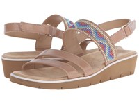 Naturalizer Dynamic Ginger Snap Smooth Beads Women's Sandals Beige