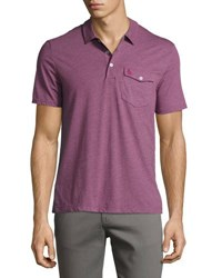 Original Penguin Smack Cotton Blend Polo Pink