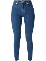 Love Moschino Super Skinny Jeans Blue