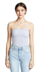 Nation Ltd. Ltd Nala Smocked Tube Top Slate