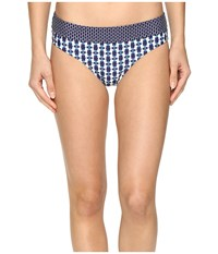 Prana Ramba Bottom Indigo Santorini Women's Swimwear Blue