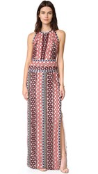 Tory Burch Beauvoir Gown Metallic Guipure