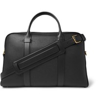 Tom Ford Full Grain Leather Briefcase Black