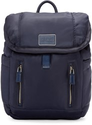 Marc By Marc Jacobs Navy Nylon Palma Backpack