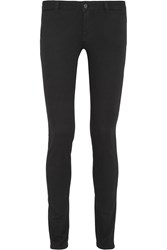 Givenchy Skinny Jeans In Black And Red Stretch Denim