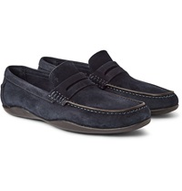 Harry's Of London Basel 2 Kudu Suede Penny Loafers