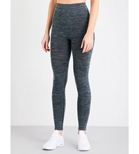 Pepper And Mayne Compression Stretch Jersey Leggings New Denim