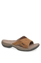 Teva 'Jetter' Slide Sandal Men Cigar