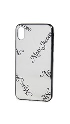 Marc Jacobs Iphone Xs Max Case Silver