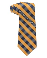 Eagles Wings Utah Jazz Checked Tie