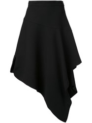 J.W.Anderson Layered Asymmetric Skirt Black