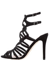 Faith Luis High Heeled Sandals Black