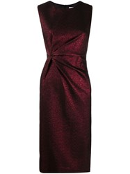 P.A.R.O.S.H. Ruched Dress Red