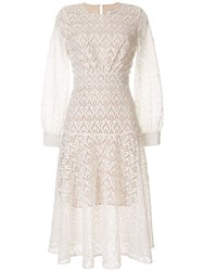 We Are Kindred Embroidered Romily Dress White
