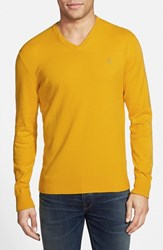 Men's Victorinox Swiss Army 'Signature' Tailored Fit V Neck Sweater Online Only