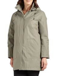Four Seasons Caban Coat Pampas