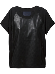 Kai Aakmann Perforated Front T Shirt