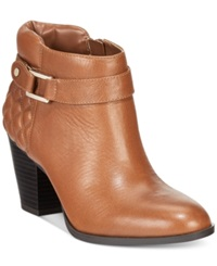 Alfani Wakefeld Booties Only At Macy's Women's Shoes Nut