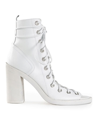 Ann Demeulemeester Blanche Lace Up Boots