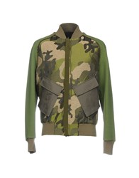 Tom Rebl Jackets Military Green