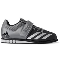 Adidas Sport Powerlift.3 Mesh Panelled Faux Leather Sneakers Black