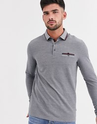 Burton Menswear Polo In Grey