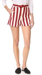 Red Valentino Board Shorts Red