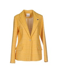 Ottod'ame Suits And Jackets Blazers Women Yellow