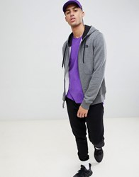 The North Face Open Gate Full Zip Hoodie In Grey