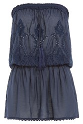 Melissa Odabash Fruley Bandeau Dress Blue
