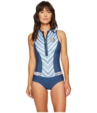 Rip Curl G Bomb Sleeveless Bikini Spring Suit Navy Women's Wetsuits One Piece