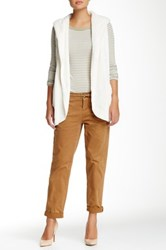 Jolt Cropped Twill Pant Juniors Brown