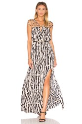 Bcbgmaxazria Keyhole Maxi Dress Black