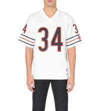 Mitchell And Ness Walter Payton Mesh Jersey Top White