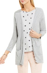 Vince Camuto Women's Two By Long Slubbed Cardigan