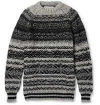 Casely Hayford Moon Wool Sweater Gray