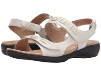 Trotters Kip Off White Vegetable Calf Leather Women's Sandals