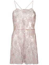 Gilda And Pearl Gilded Macaron Lace Slip Pink