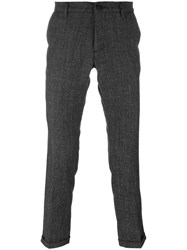 Pence Skinny Fit Trousers Black