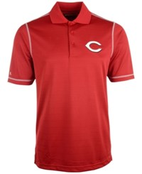 Antigua Cincinnati Reds Icon Polo Red White