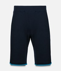 Christopher Kane Two Tone Loopback Shorts Blue
