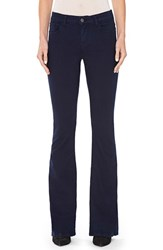 Alice Olivia Women's 'Stacey' Flare Leg Jeans Navy