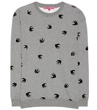 Mcq By Alexander Mcqueen Swallow Sweatshirt Grey