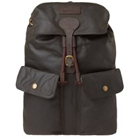 Barbour Linton Backpack Green